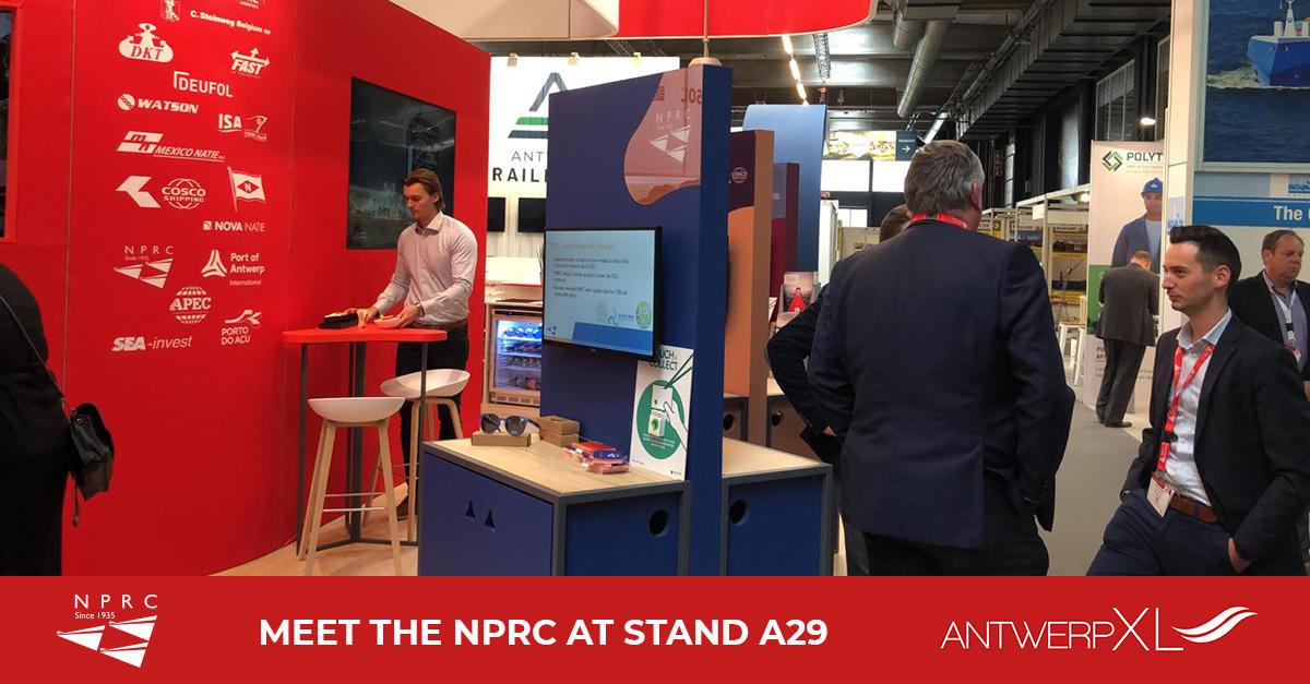 NPRC aanwezig op AntwerpXL